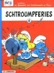 Schtroumpferies t.4 - Couverture - Format classique