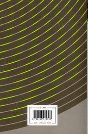 Les architectes - 4ème de couverture - Format classique
