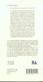 Le Fer De Dieu ; Histoire De La Meteorite De Chinguetti - 4ème de couverture - Format classique