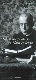 Charles Journet ; et nova et vetera - Intérieur - Format classique