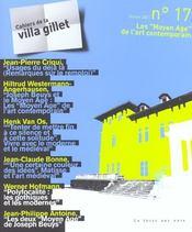 Villa Gillet 17 - Moyen Age De L'Art Contemporain - Intérieur - Format classique