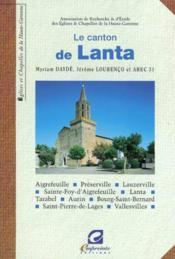 Le Canton De Lanta - Couverture - Format classique