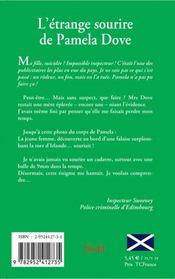 L'étrange sourire de pamela dove - 4ème de couverture - Format classique