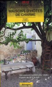 telecharger Maisons d'hotes en France (edition 2013) livre PDF en ligne gratuit