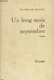 Un Long Mois De Septembre. - Couverture - Format classique