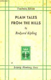 Plain Tales From The Hills - Couverture - Format classique