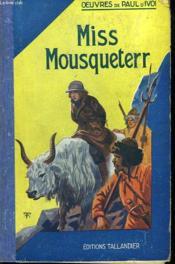 Miss Mousqueterre - Couverture - Format classique