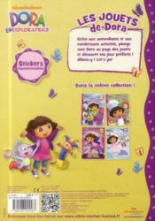 Les jouets de Dora - 4ème de couverture - Format classique