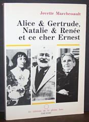 Alice & Gertrude, Nathalie & Renée et ce cher Ernest - Couverture - Format classique