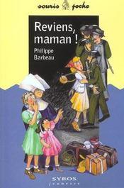Reviens Maman - Intérieur - Format classique