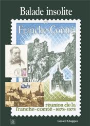 Balade insolite en Franche Comté - Couverture - Format classique