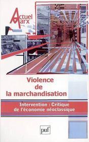 REVUE ACTUEL MARX N.34 ; violence de la marchandisation (édition 2003) - Intérieur - Format classique