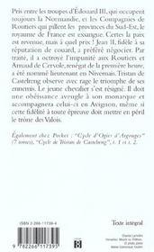 Cycle de Tristan de Castelreng t.3 ; la couronne et la tiare - 4ème de couverture - Format classique