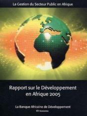 Rapport sur le developpement en afrique 2005 - Couverture - Format classique