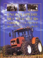 Encyclopedie des tracteurs agricoles francais - Intérieur - Format classique