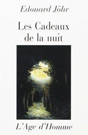 Les Cadeaux De La Nuit - Couverture - Format classique