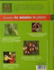 Reconnaître les maladies des plantes - 4ème de couverture - Format classique