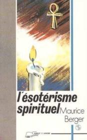 Esoterisme Spirituel - Couverture - Format classique