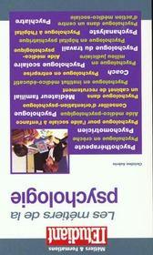 Metiers De La Psychologie 2000 - Intérieur - Format classique