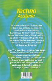 Techno Attitude - 4ème de couverture - Format classique