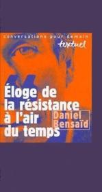 Éloge de la résistance à l'air du temps - Couverture - Format classique
