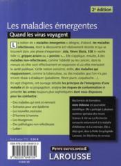 Les maladies émergentes ; quand les virus voyagent (édition 2009) - 4ème de couverture - Format classique