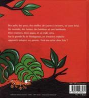 Maki catta - 4ème de couverture - Format classique
