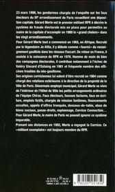 Un Militant Exemplaire - 4ème de couverture - Format classique