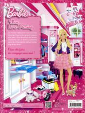 Barbie ; mon livre-dressing - 4ème de couverture - Format classique