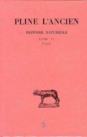 Histoire naturelle livre 6 (2e partie) - Couverture - Format classique