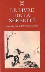 Le livre de la sérénité - Intérieur - Format classique