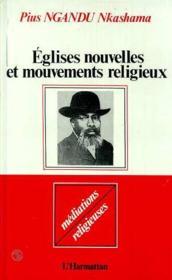 Églises nouvelles et mouvements religieux - Couverture - Format classique
