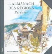 Almanach des regions ; pyrenees - Couverture - Format classique