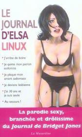 Journal d'elsa linux - Intérieur - Format classique
