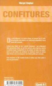 Confitures - 4ème de couverture - Format classique