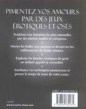 Art Des Jeux Erotiques (L') - 4ème de couverture - Format classique