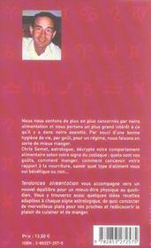 Tendances Alimentation - 4ème de couverture - Format classique