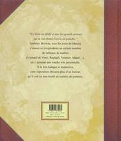 Les Tableaux De Marcel - 4ème de couverture - Format classique