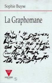 La graphomane - Couverture - Format classique