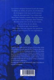 Le livre des chemins ; contes de bon conseil pour questions secrètes - 4ème de couverture - Format classique