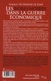 Robes noires dans la guerre économique - 4ème de couverture - Format classique