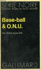 Collection : Serie Noire N° 1495 Base-Ball & O.N.U. - Couverture - Format classique