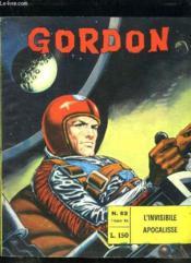 Gordon N° 63 Du 17 Dicembre 1966. L Invisibile Apocalisse. Texte En Italien. - Couverture - Format classique