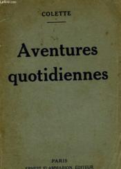 Aventures Quotidiennes. - Couverture - Format classique