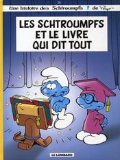 Les Schtroumpfs T.26 ; les Schtroumpfs et le livre qui dit tout - Intérieur - Format classique