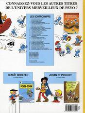 Les Schtroumpfs T.26 ; les Schtroumpfs et le livre qui dit tout - 4ème de couverture - Format classique