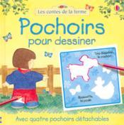 Pochoirs Pour Dessiner - Couverture - Format classique