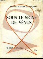 Sous Le Signe De Venus - Couverture - Format classique