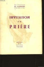 Invitation A La Priere - Couverture - Format classique