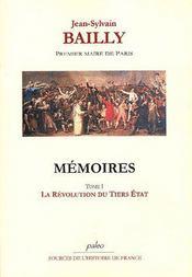 Mémoires t.1 (29 décembre 1786 - 14 juillet 1789) - Intérieur - Format classique